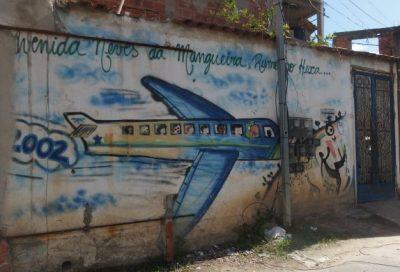 南アフリカに向かう飛行機