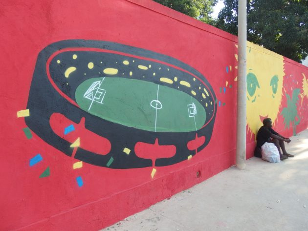 マラカナンのタンバリン壁画
