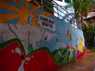 バビロンの公園壁画