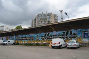 マルセイユ駅駐車場