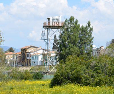 キプロスUN監視塔
