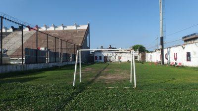 スタジアム横のミニサッカー場
